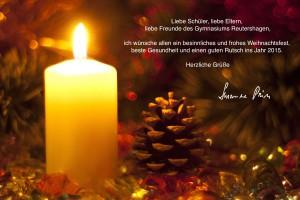 Weihnachten Kerze.